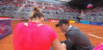Darren Cahill a trecut peste Victor Ionita la Madrid. Cat a ajutat-o pe Simona Halep?