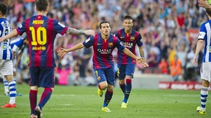 Barcelona la o victorie distanta de un nou titlu in Spania