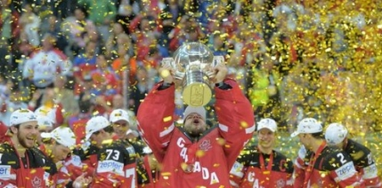 Canada a zdrobit Rusia in finala Campionatului Mondial