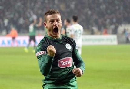 Gabriel Torje, erou pentru Konyaspor in meciul cu Besiktas