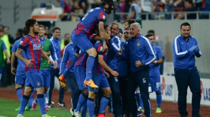 Steaua cucereste Cupa Ligii dupa 3-0 cu Pandurii