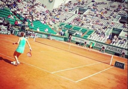 LIVE Roland Garros: Halep-Lucic Baroni si Dulgheru-Cornet