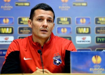 Costel Galca si-a anuntat despartirea de Steaua: Plec cu capul sus