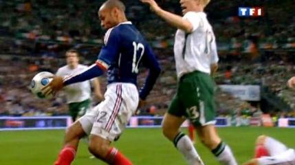 FIFA a platit milioane bune pentru hentul lui Thierry Henry