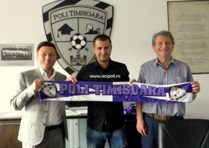 Ianis Zicu a semnat cu ACS Poli Timisoara. Promite zece goluri in noul sezon