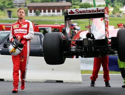 Nico Rosberg domina primele antrenamente din Austria. Probleme pentru Sebastian Vettel