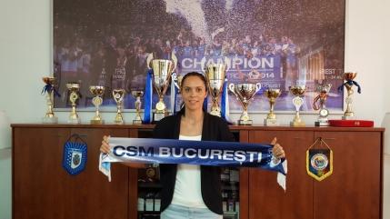 Aurelia Bradeanu transferata de campioana CSM Bucuresti