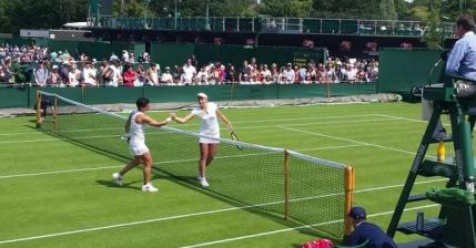 Prima surpriza la Wimbledon. Jucatoare de top 10 mondial eliminata in mai putin de o ora