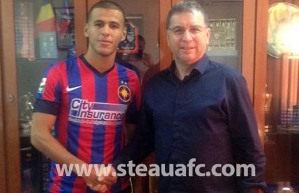 Oficial: Steaua l-a transferat pe Tahar