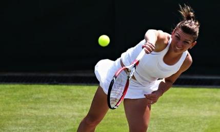 Simona Halep, eliminata in primul tur la Wimbledon de o jucatoare din afara topului 100
