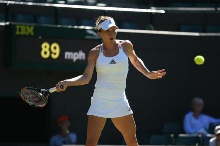 Simona Halep, dezamagita dupa eliminarea suferita la Wimbledon: