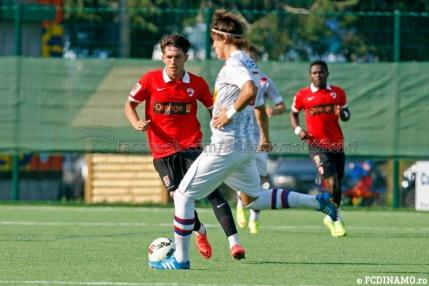 Dinamo isi face norma de goluri cu amatorii din Italia