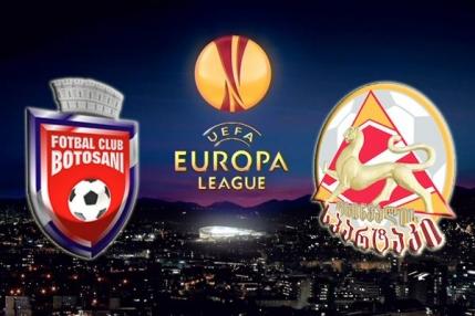 MINUT cu MINUT Europa League: FC Botosani-FC Tskhinvali 1-1
