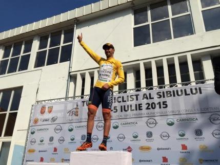 Eduard Grosu, noul lider din Turul Sibiului