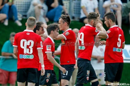 Dinamo incheie triumfal cantonamentul din Italia
