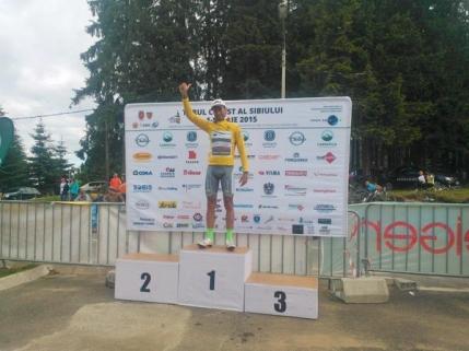 Schimbare de lider in Turul Sibiului. Eduard Grosu preda tricoul galben