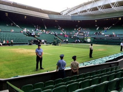 Moment inedit la Wimbledon in meciul dintre Gael Monfils si Gilles Simon