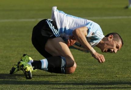 Angel Di Maria s-a rupt in finala Copa America