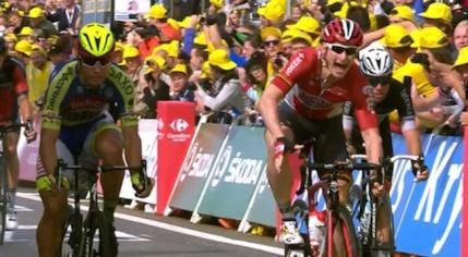 Turul Frantei: Fabian Cancellara se imbraca in galben dupa etapa de la Zelande