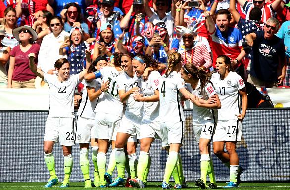 SUA, campioana mondiala la fotbal feminin
