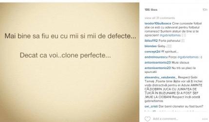 Gabi Tamas ataca Steaua: Clone perfecte
