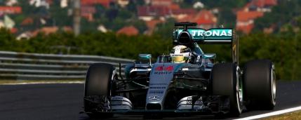 Hamilton ia poleul în Ungaria