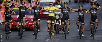 Froome câștigă Turul Franței
