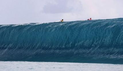 A supravietuit celei mai mari caderi intr-un val din istorie? (video)