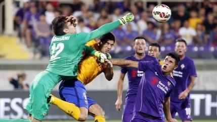 Ciprian Tatarusanu contribuie la victoria Fiorentinei cu Barcelona
