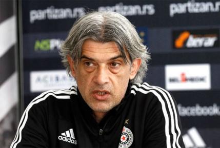 Antrenor Partizan: