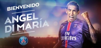 Angel Di Maria, cel mai scump jucator din istoria fotbalului