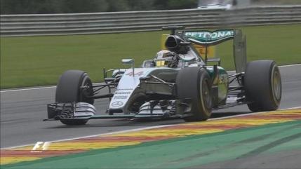 Lewis Hamilton castiga in Belgia. Podium in extremis pentru Lotus