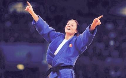 Argint pentru Corina Caprioriu la Campionatele Mondiale de judo