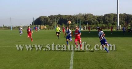 Steaua si-a refacut moralul intr-un amical cu CS Tunari
