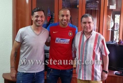 Kharja a semnat cu Steaua