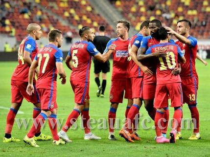 Victorie fara dubii pentru Steaua cu Chiajna la debutul lui Kharja