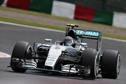 Rosberg, pole position in Japonia. Accident urat suferit de Kvyat in calificari