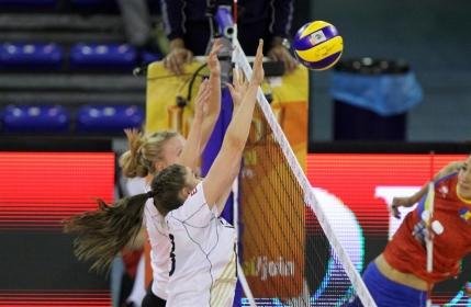 Romania, a doua infrangere la Campionatul European de volei