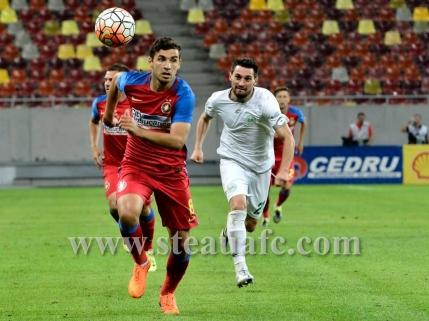 Steaua urca pe podium in Liga 1 dupa victoria cu Voluntari