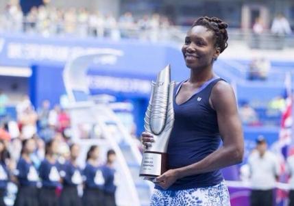 Venus Williams, campioana la Wuhan. Cel mai important titlu din ultimii cinci ani