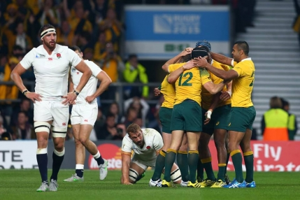 Australia in sferturi la Cupa Mondiala dupa ce a ingropat Anglia chiar pe Twickenham