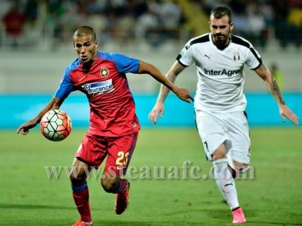 Steaua termina turul pe locul secund dupa 2-1 in deplasare cu CSMS Iasi