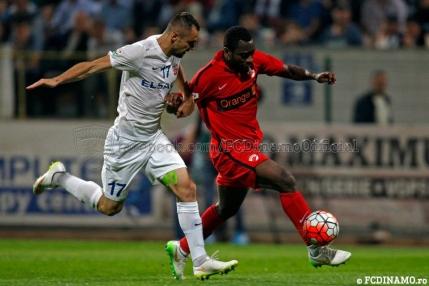 Dinamo pierde cu Astra in fata a peste 20.000 de spectatori