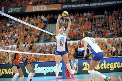 Rusia obtine al 19-lea titlu european la volei feminin