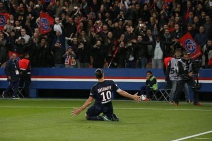 Zlatan Ibrahimovic, cel mai bun marcator din istoria lui Paris Saint Germain