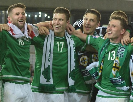 Irlanda de Nord se califica la primul Campionat European din istorie