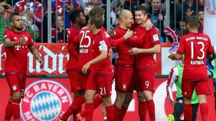 Bayern Munchen scrie istorie in Bundesliga. Victoria cu numarul 1000!