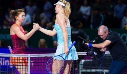 Ce i-a spus antrenorul Simonei si ea nu a putut face. Replica dezarmanta in timpul meciului cu Sharapova