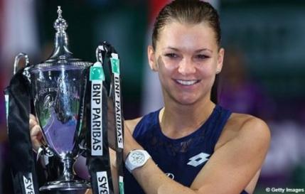 Radwanska, campioana la Singapore