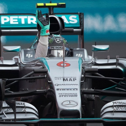 Dulce consolare pentru Nico Rosberg in Mexic